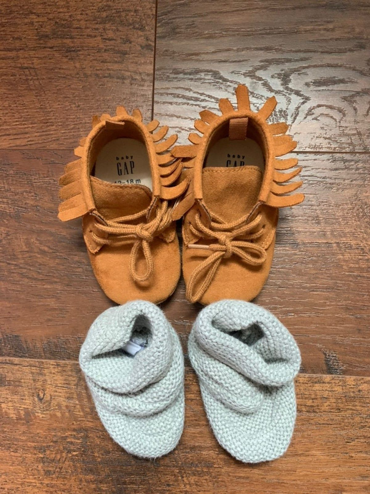 Photo of Gap Moccasins and Baby Brannan Booties