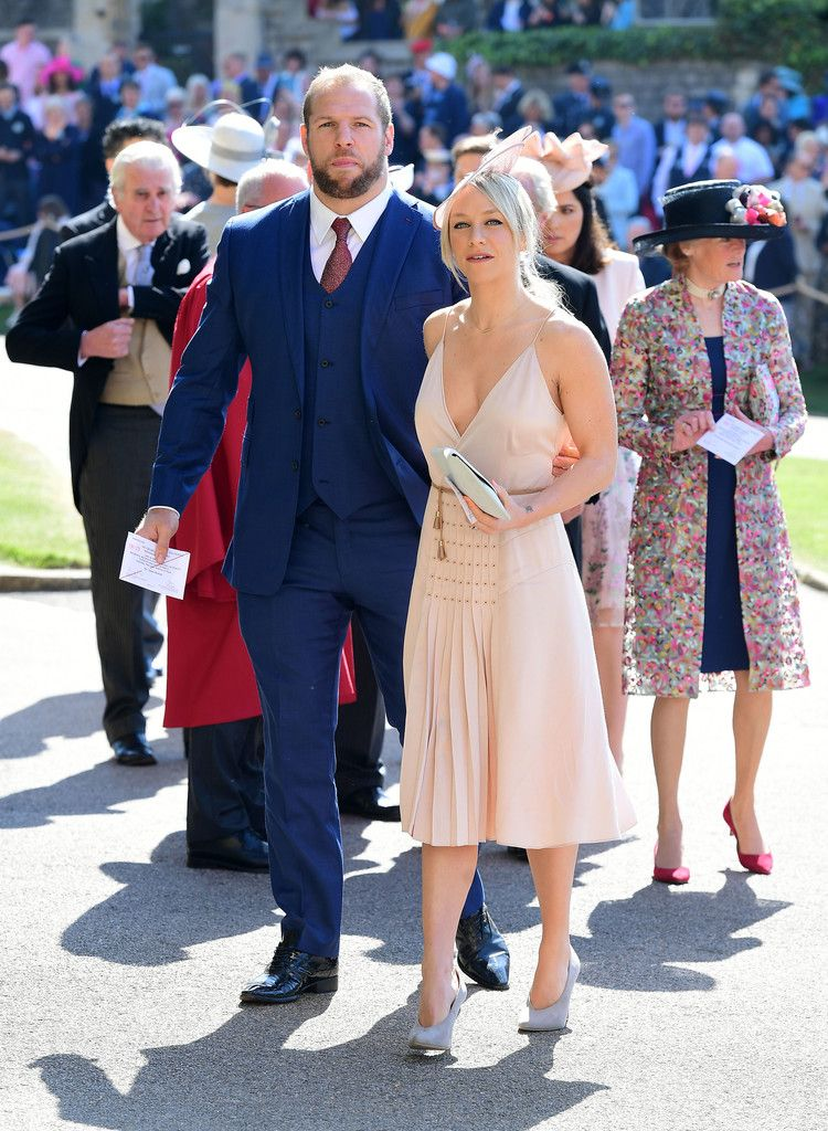 6796cebc6 Chloe Madeley - What Celebrity Guests Wore To Meghan Markle And Prince  Harry's Wedding - Photos
