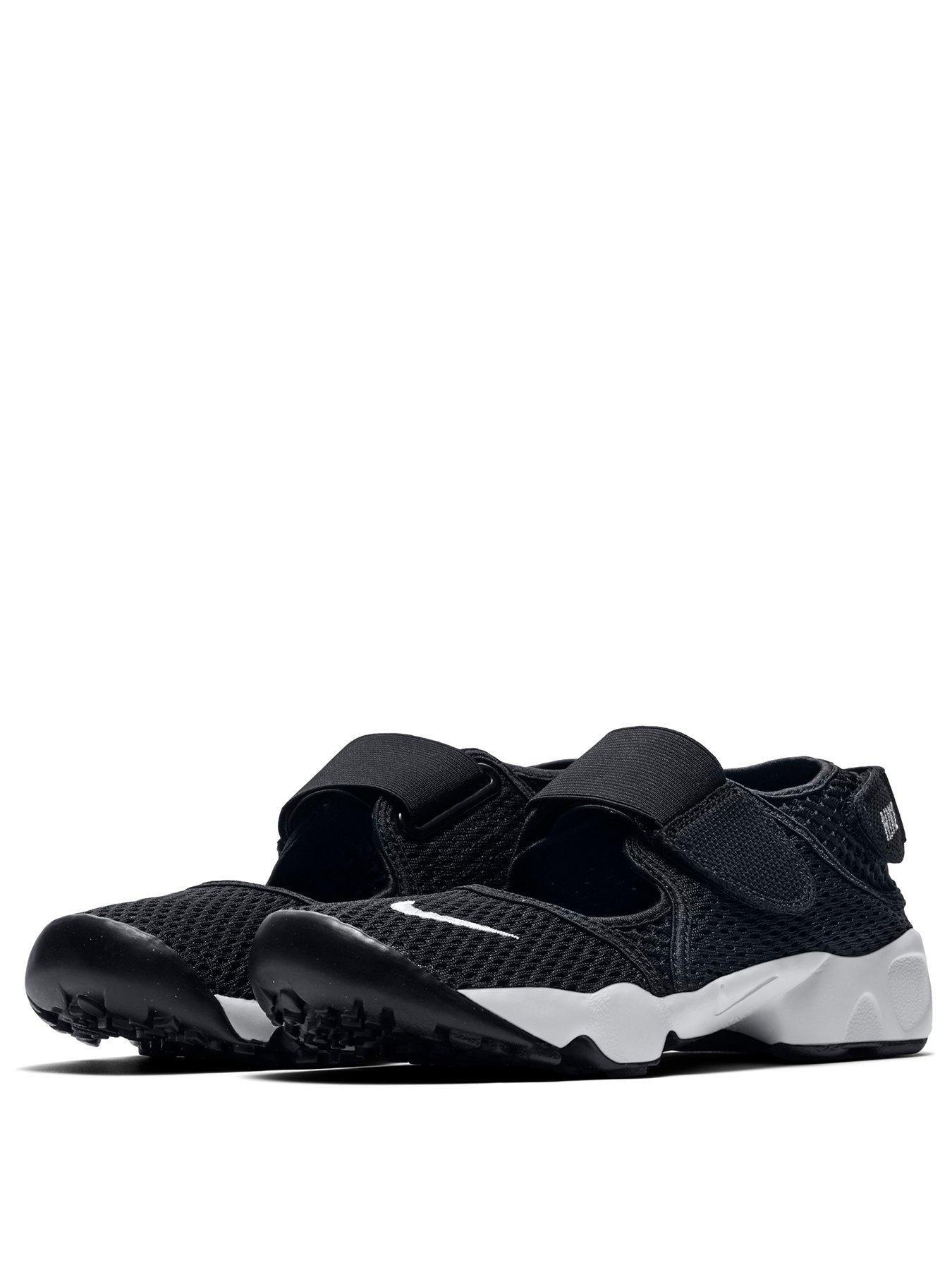 Rift Junior Sandals - Black/White in