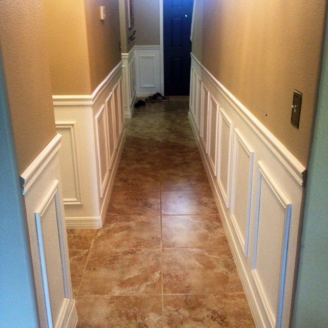 High Street Market Architectural Trim Wainscoting: Installing Wainscoting, Faux