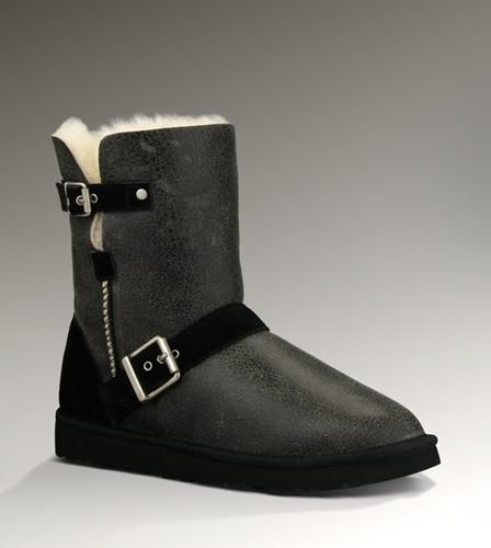 Ugg Australia Classic Short Dylyn Ankle Boots Color: Black