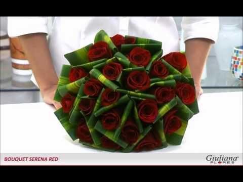 Bouquet Serena Red Presente Romântico Giuliana Flores