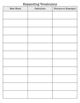 24+ Vocabulary recording worksheets Popular