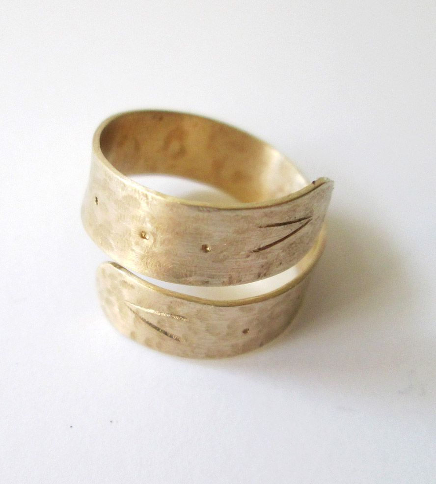 Hammered Brass Snake Ring | Jewelry Rings | C. Alexandria | Scoutmob Shoppe | Product Detail