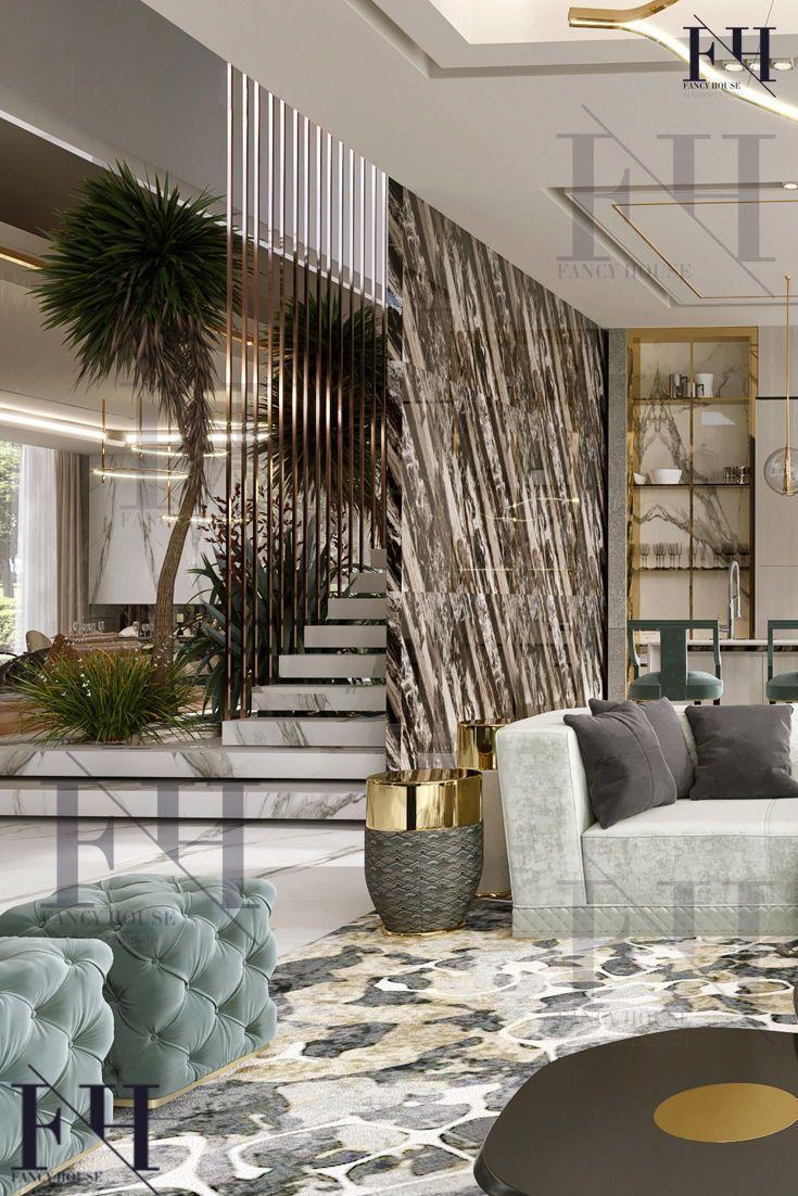 Photo of дизайн интерьера гостиной в современном ро…