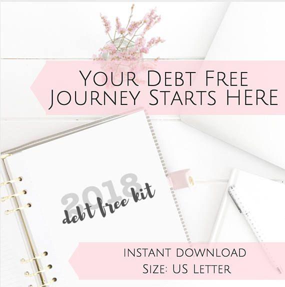 PRINTABLE Dave Ramsey Budget Planner, Envelope System, Debt Snowball