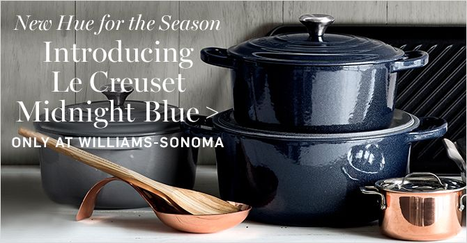 Introducing Le Creuset Midnight Blue Only At Williams Sonoma