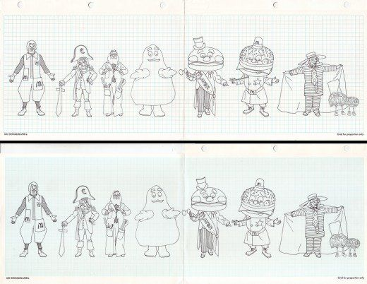 McDonaldland specifications...who is the old guy next to