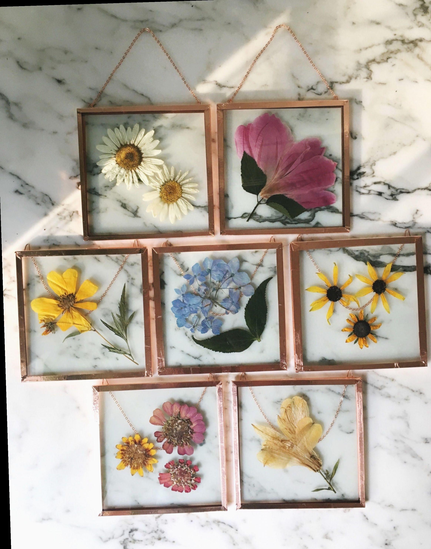 diy flower wall frame