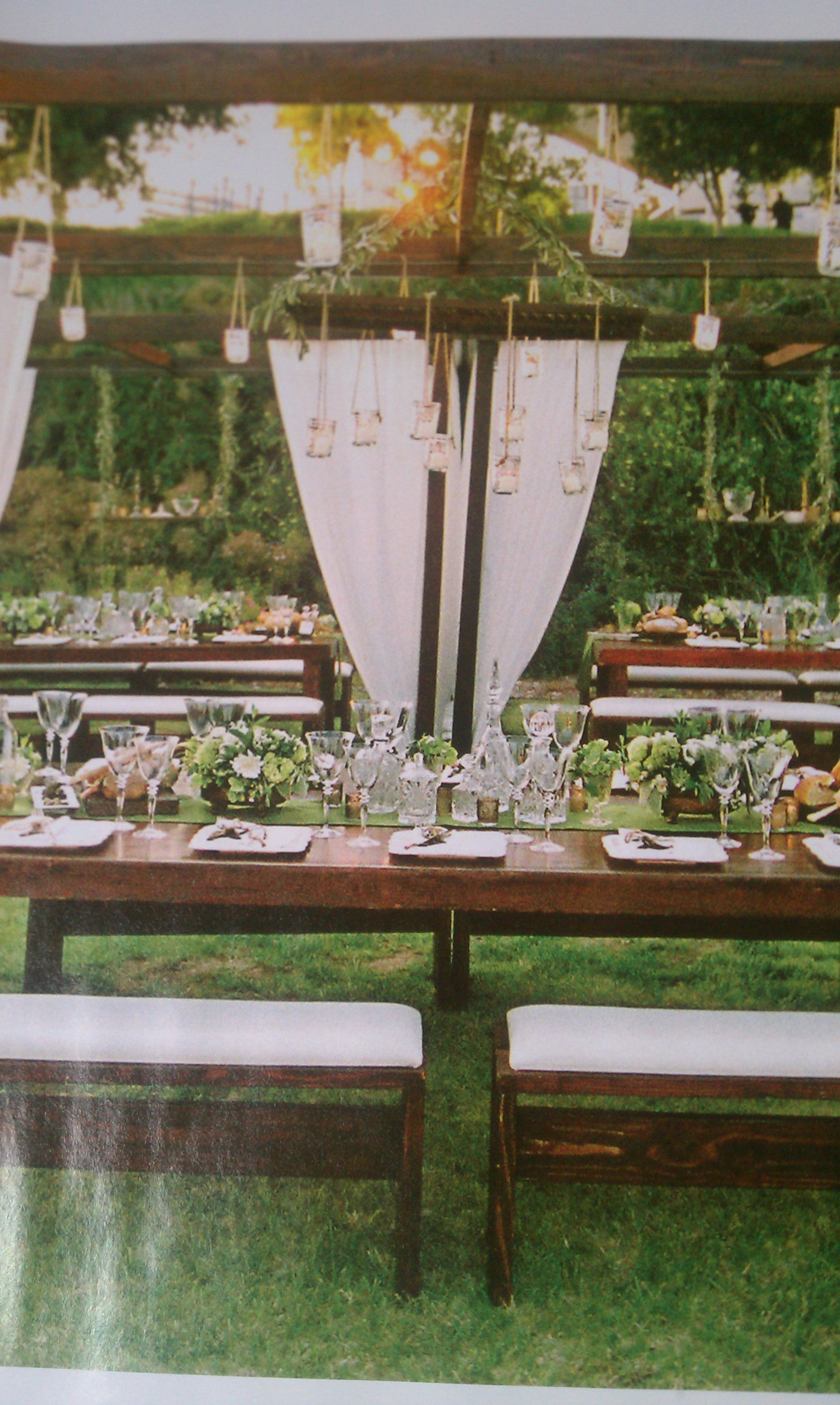 Table idea for Five Crowns styled wedding
