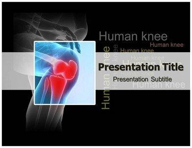 Download online human knee powerpoint template and background with download online human knee powerpoint template and background with editable httpgoo toneelgroepblik Choice Image
