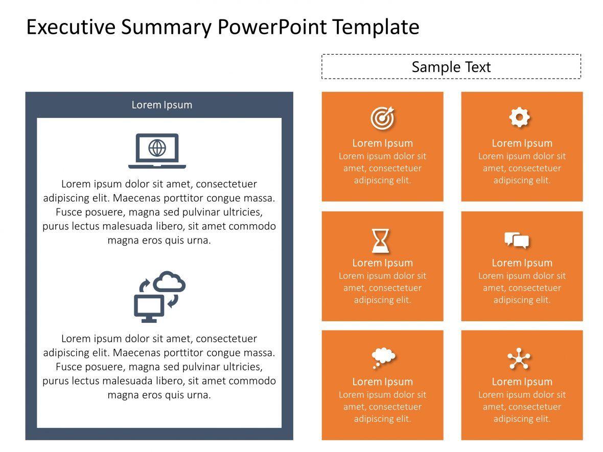 Executive Summary PowerPoint Template 41 Entreprise