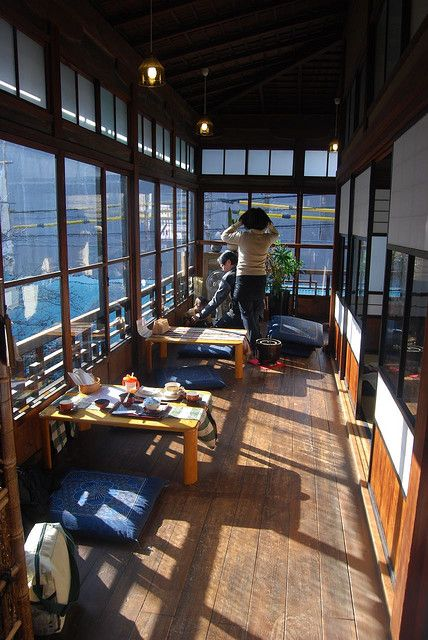 Small cafe all about japan pinterest haus for Traditionelles haus japan