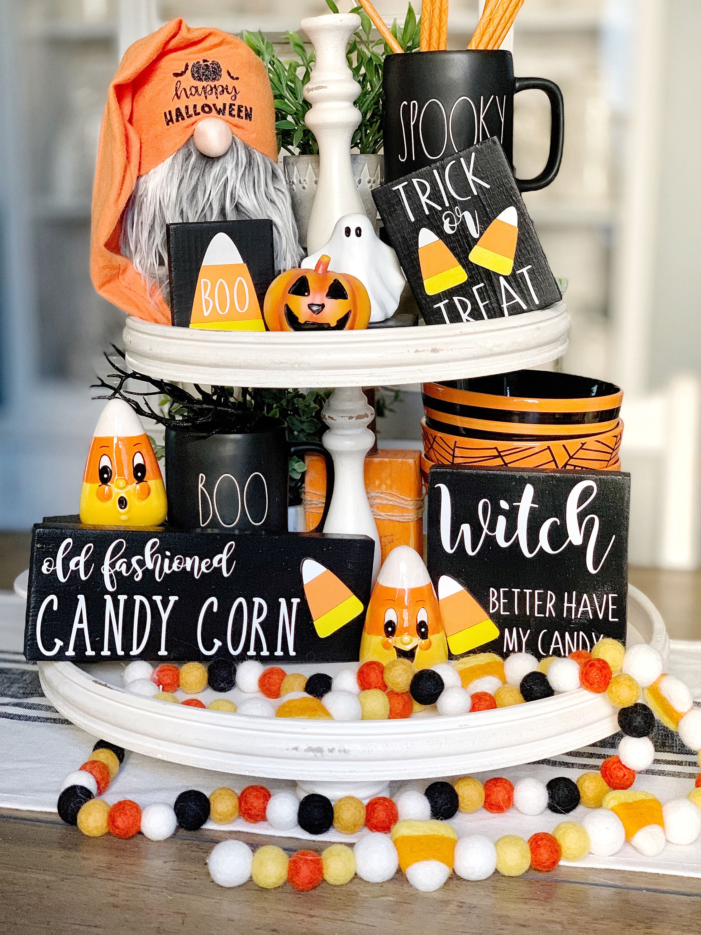 Candy corn signs / 3D signs / Halloween signs / Halloween