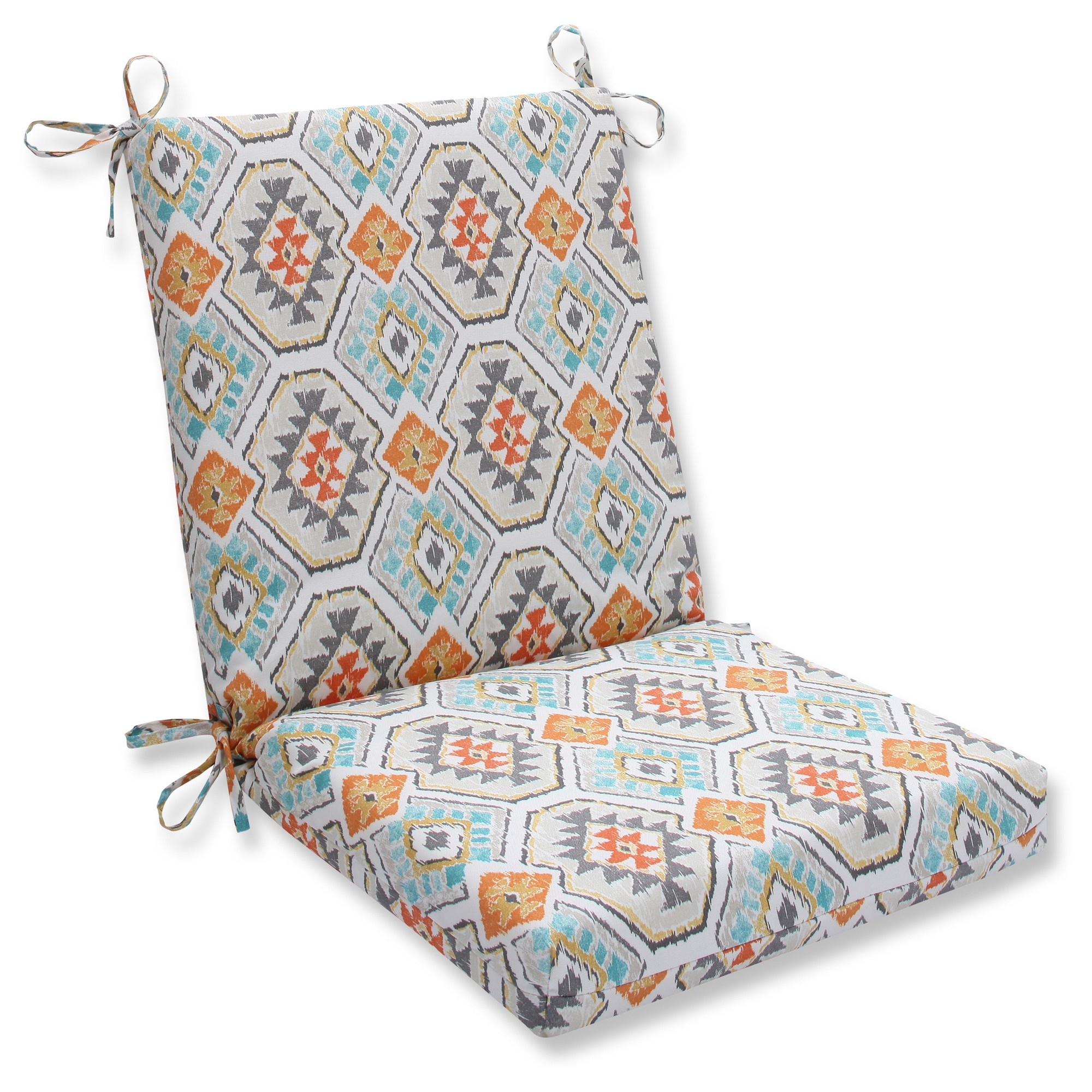 Pillow Perfect Outdoor One Piece Seat And Back Cushion