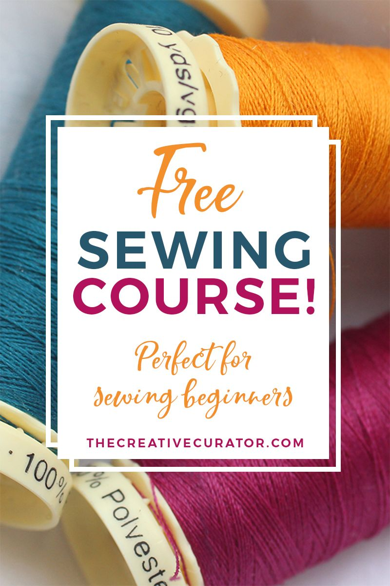 Interested In Learning To Sew Step By Step?