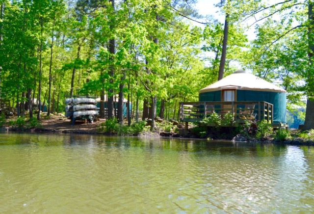 5 Georgia State Parks That Offer Yurt Camping My Future
