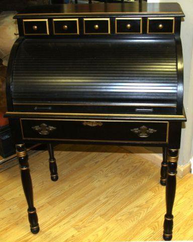Charmant Old Jasper Cabinet Roll Top Desk | TURNED LEG ROLL TOP DESK BY JASPER  CABINET :
