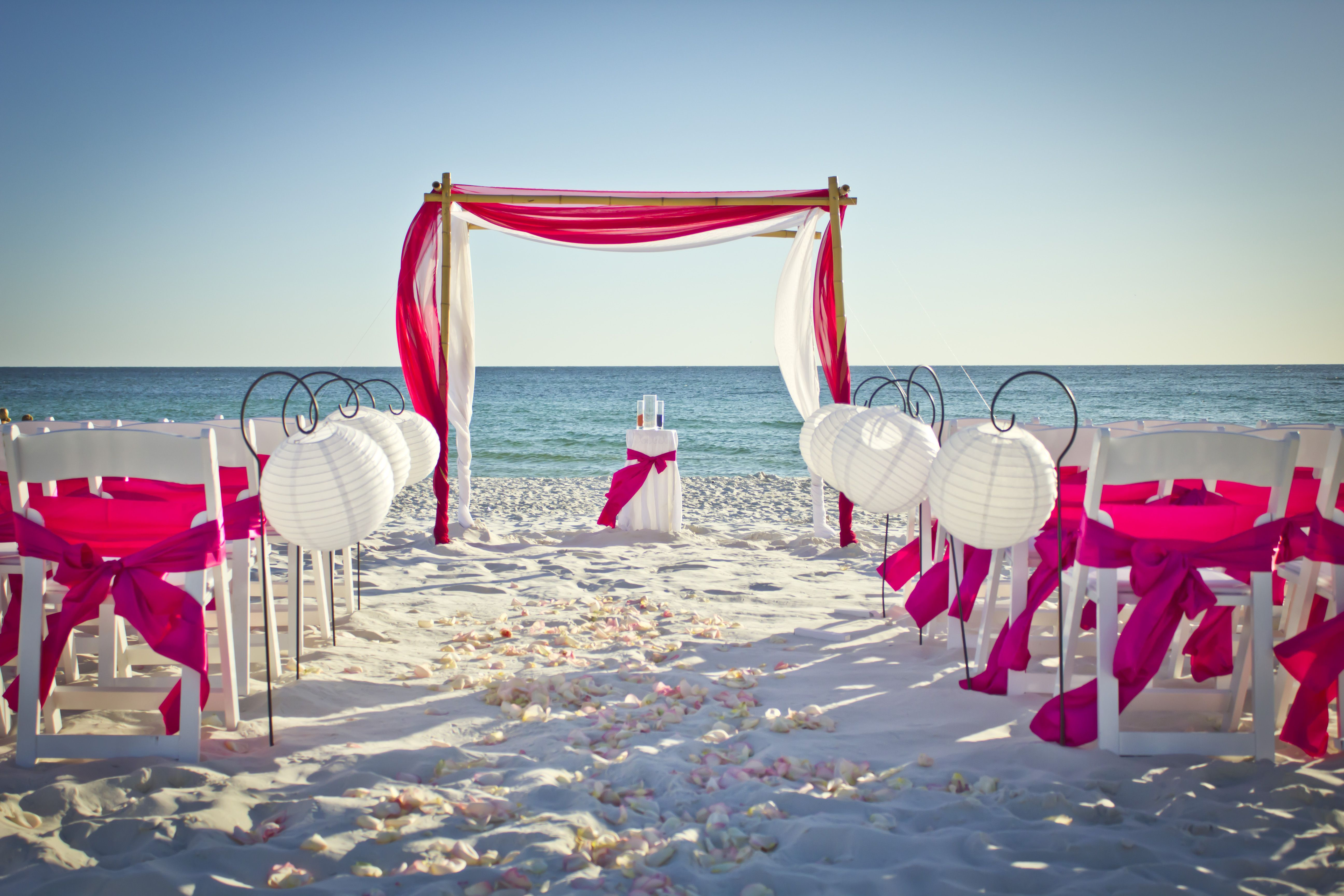 Beach House Wedding Fl Real Panama City