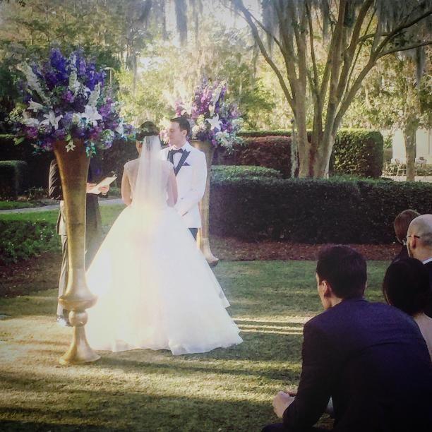 Golden Ocala Resort Wedding Ceremony