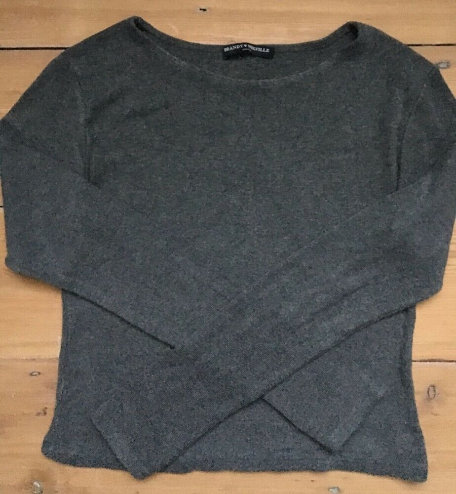 GUESS Womens Black Zip Up Sweater Knit Crop Top Tank Cami Size S NWT