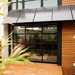 Solar Panels Over My Overhang See Garage Door