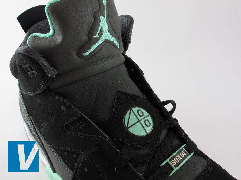 The tongue of new Jordan Son of Mars shoes is in two sections made of  different fa345967d