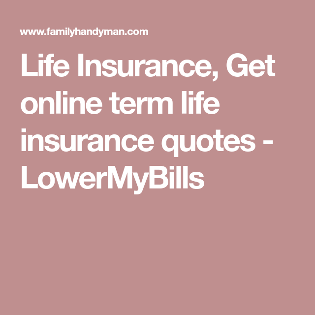 Life Insurance Quotes Usaa: Term Life Insurance Quote
