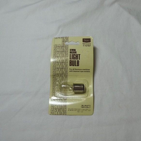 40s Sears Kenmore Sewing Machine Light Bulb 40 40 New In Simple Kenmore Sewing Machine Light Bulb