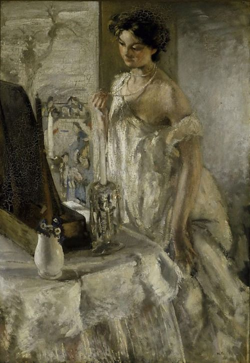 Henry Tonks - The Pearl Necklace , 1905