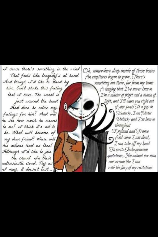 Nightmare Before Christmas Meme.Pin By Alli Toney On Quotes Sally Nightmare Before