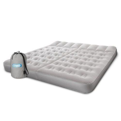 Aerobed Sleep Basics 2zone Air Bed With 120volt Air Pump You Can Get More Details By Clicking On The Image This Is An Air Bed Aerobed Air Mattress Camping