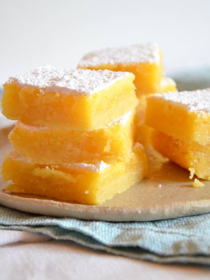 Zitronenschnitten - Ich muss backen