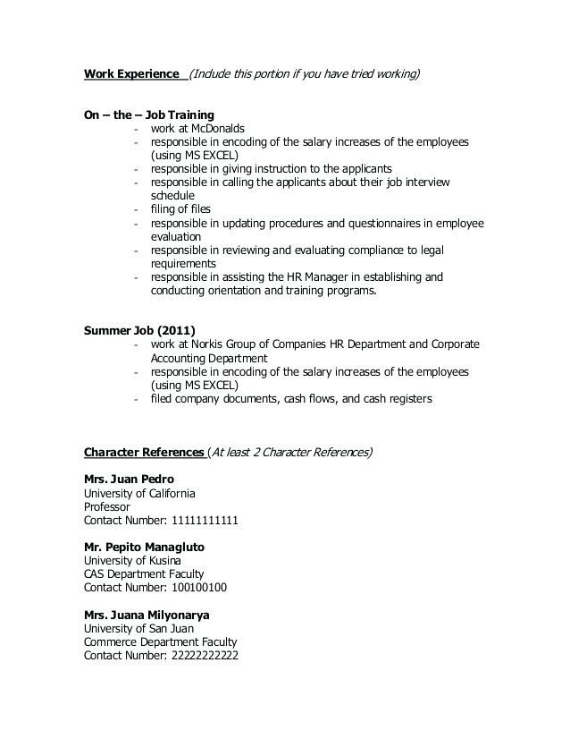 mcdonalds manager resume bunch ideas of s experience