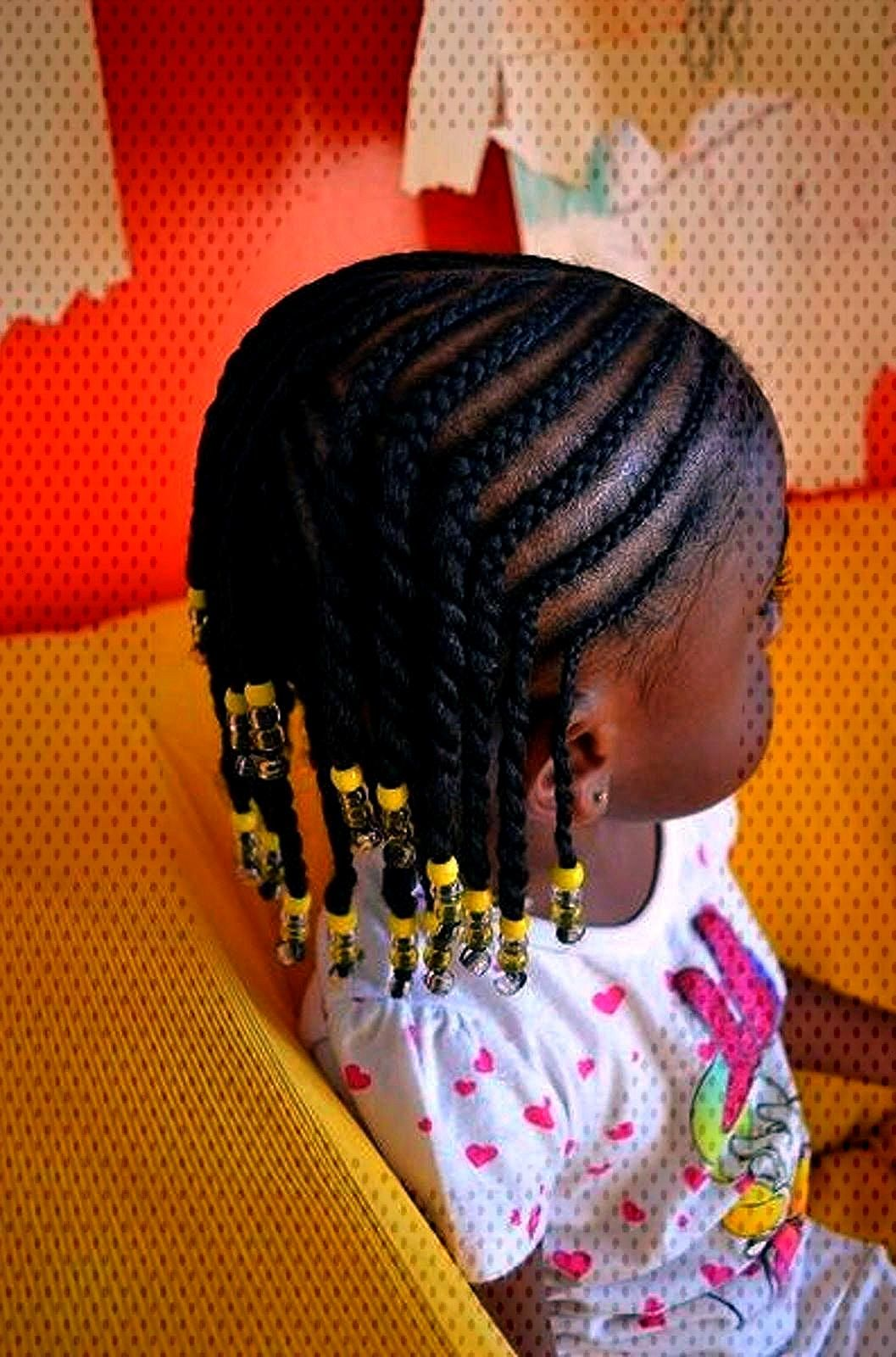 Most current Free Hairstyle ideas for little girls Afro beaded braids Concepts Are you currently