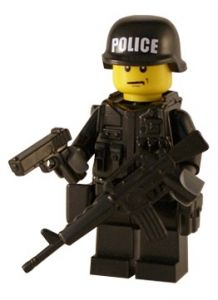 Armed Police - Customised Lego Figure  9a6bc348c58d