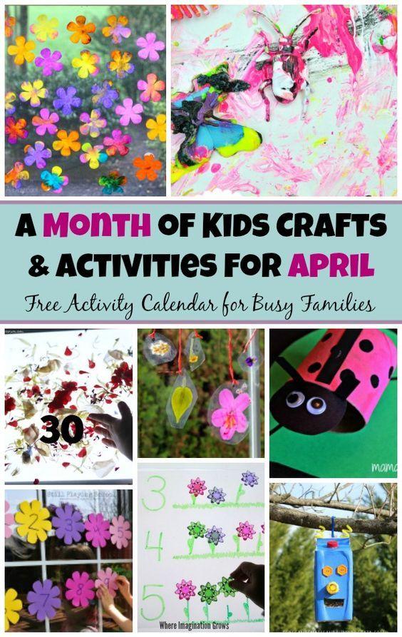 30 Spring Preschool Crafts Activities For April Preschool
