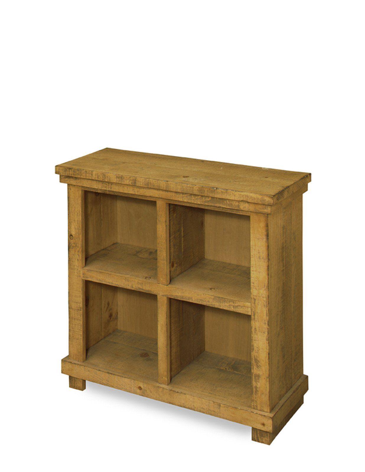 Willow Casual Bookcase 32h Pine Heavily Distressed Progressive