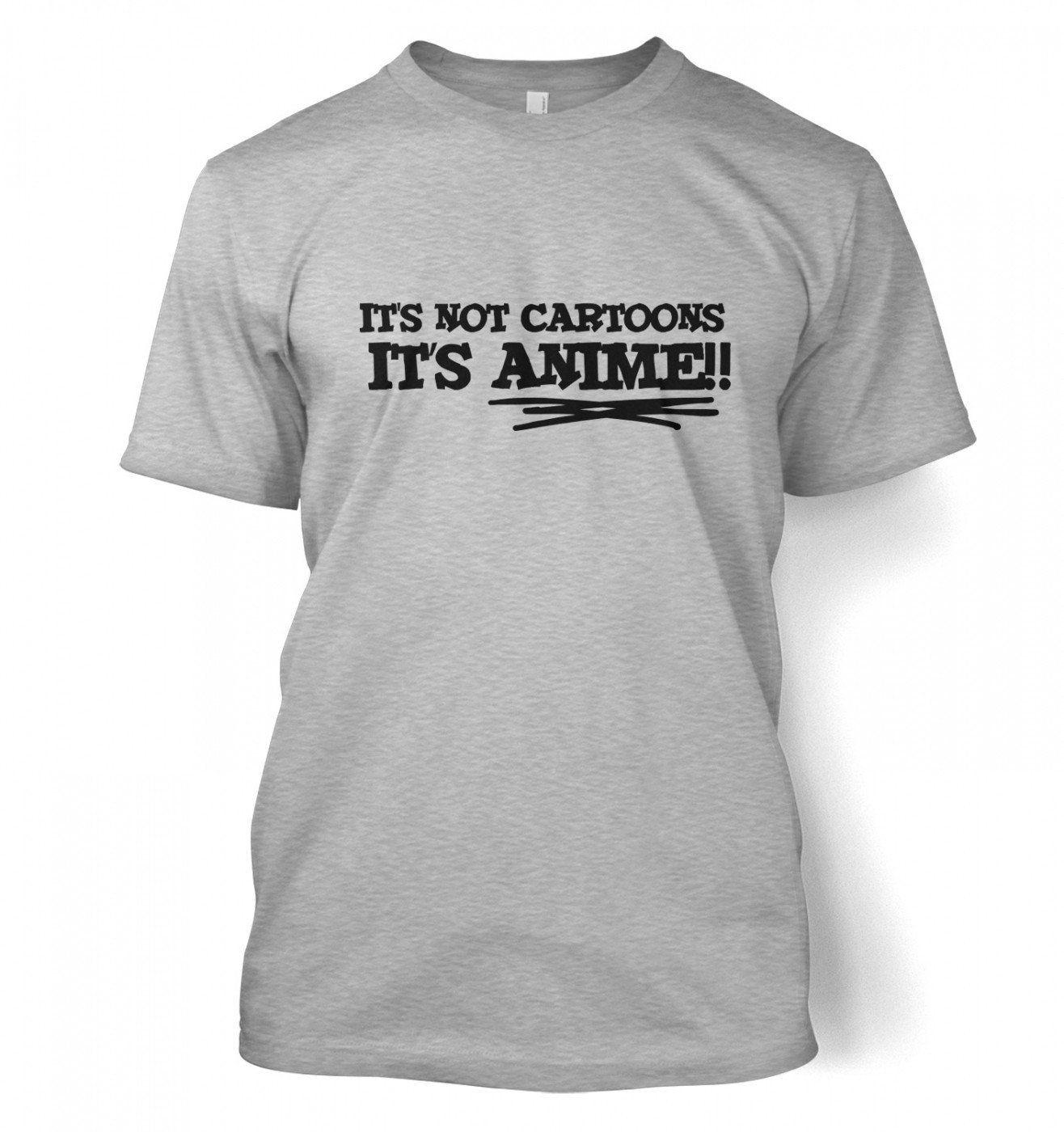 747dc15a Amazon.com: Its Not Cartoons! T-shirt - Japanese Anime Geeky Tshirt:  Clothing