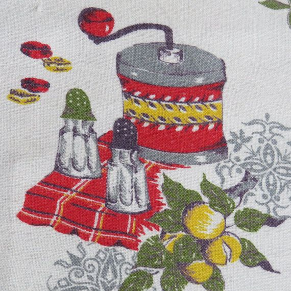 Vintage Country Kitchen Placements or Napkins  by shabbyshopgirls, $14.00