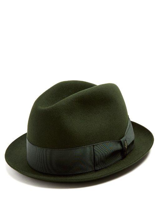 e6038dadc4d BORSALINO Alessandria Narrow-Brim Felt Hat.  borsalino  hat ...