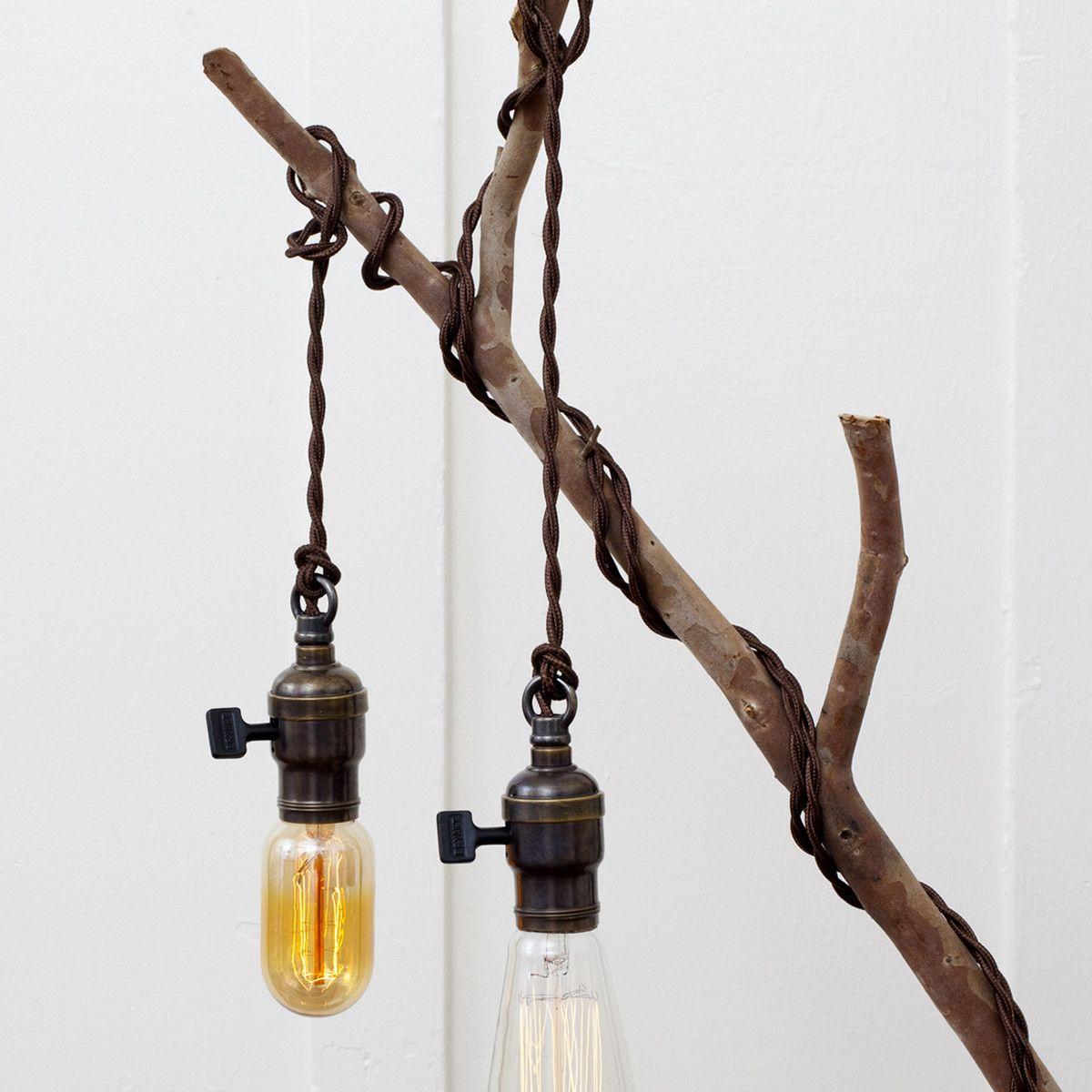 1915 Edison Bryant Pendant Set Mason jar lamp, Organic