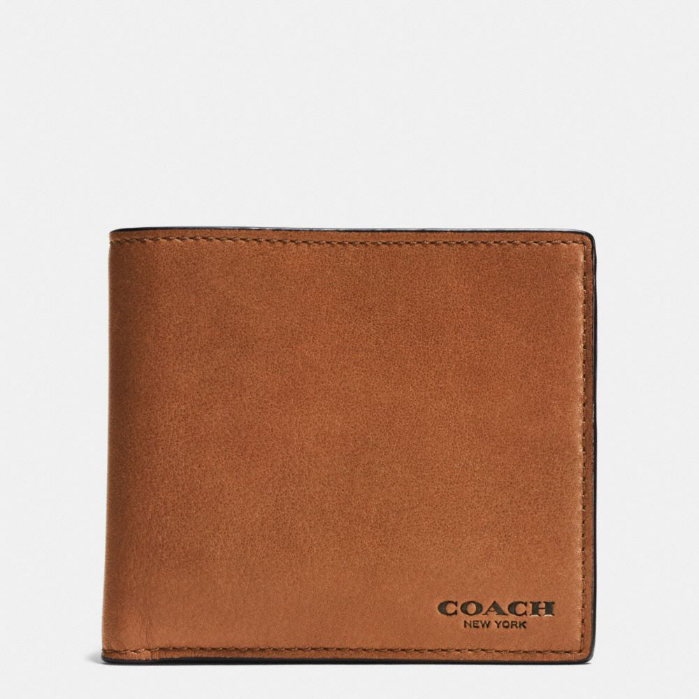 d8ae716411037 ... canada coach coin wallet in sport calf leather. coach bags leather  wallet accessories c061f defb8 release date coach mens ...