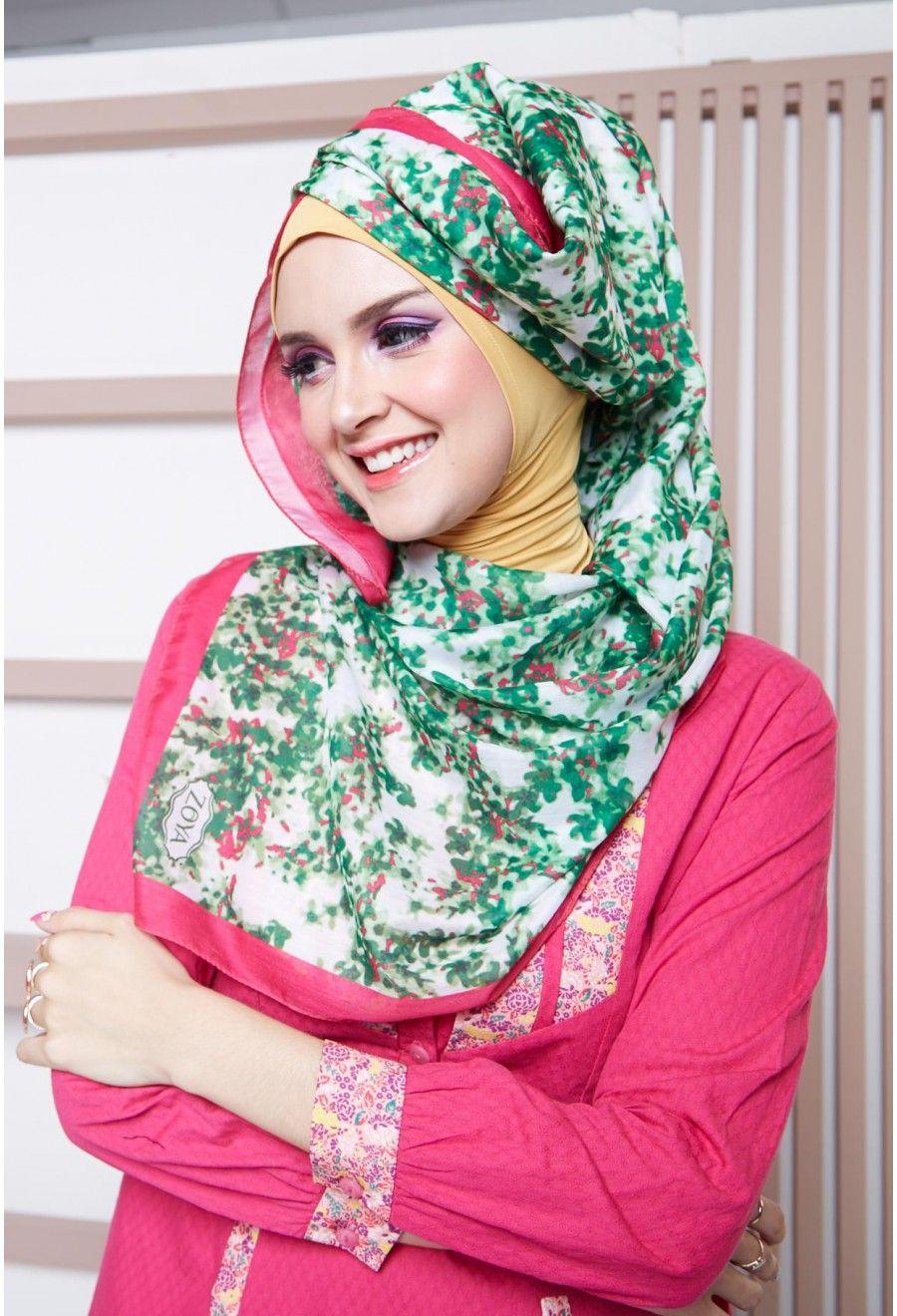hijab terbaru zoya