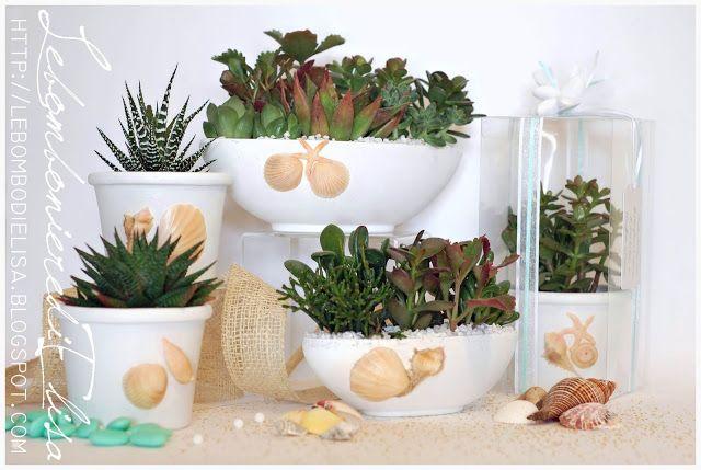 Matrimonio Tema Piante Grasse : Bomboniere matrimonio tema mare bomboniere piante grasse