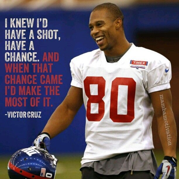 New York Giants 80 Victor Cruz Victor Michael Cruz Is An American Football Wide Receiver For The Ne Ny Giants Football New York Giants New York Giants Jersey