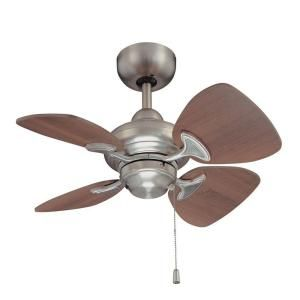 Designers Choice Collection Aires 24 In Satin Nickel Ceiling Fan Ac16324 Sn The Home Depot Ceiling Fan Ceiling Fan With Remote Ceiling Fan With Light 24 inch ceiling fan