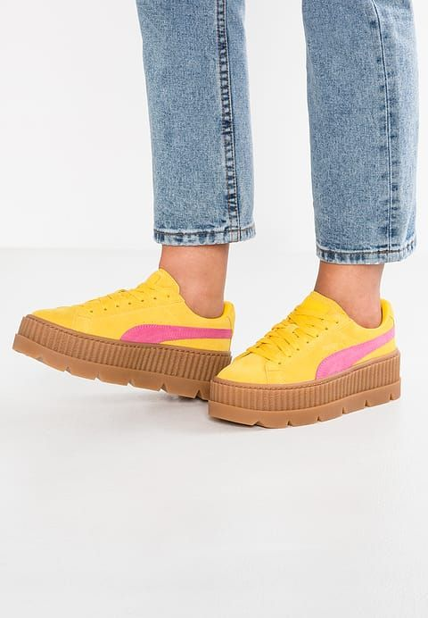 puma creepers jaune