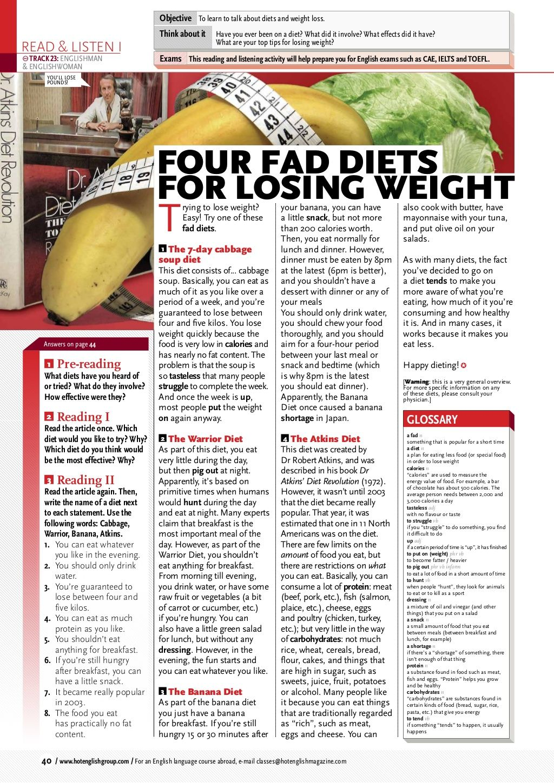 He131 diets by Majorick via slideshare