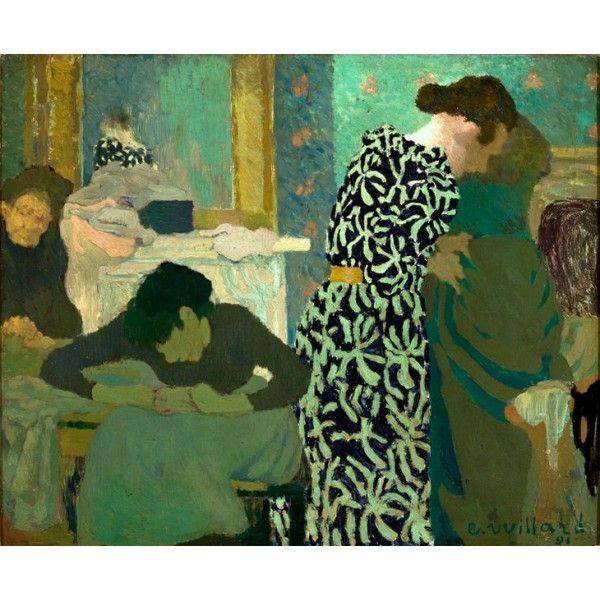 Edouard Vuillard - Robe fleurie 1891